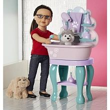 Fun, Affordable Journey Girls Pet Grooming Set (Dolls and Pets Sold Separately) by Tru American Girl Doll Pets, American Girl Crafts, Ag Dolls, Girl Dolls, Toys R Us, Kids Toys, Diy For Kids, Gifts For Kids, Pet Spa