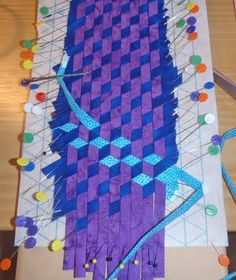Avoid set in seams and WEAVE your tumbling blocks! From Not Only Quilts: Quilt retreat picture time!
