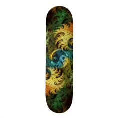 Roll down the sidewalk with the wind in your hair thanks to Zazzle's Abstract skateboards. Choose your size, your deck, & get rolling with our skateboard! Custom Skateboard Decks, Custom Skateboards, Fractal Art, Fractals, Outdoor Gear, Have Fun, Surfing, Art Pieces, Around The Worlds