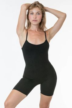 83022 - Spaghetti Scoopback Biketard – Los Angeles Apparel Garment Manufacturing, Womens Bodysuit, Sweaters And Leggings, Jumpsuit Dress, Skin Tight, Piece Of Clothing, Sweater Jacket, Short Skirts, Cotton Spandex