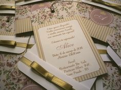 Convite Chá de Bebê floral rosa