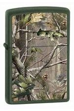 Buylighters.com - Zippo Lighter Green Matte Realtree!