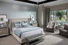 Make your Master Suite a fashion statement. Different textures, colors and patterns all help create what we desire most - an inviting, relaxing haven.
