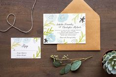 Oh So Beautiful Paper: 9th Letter Press Wedding Invitation Collection