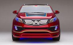 kia superhero cars wonder woman | Wonder-Woman-Kia-Sportage-front-profile #347951 - MotorTrend WOT