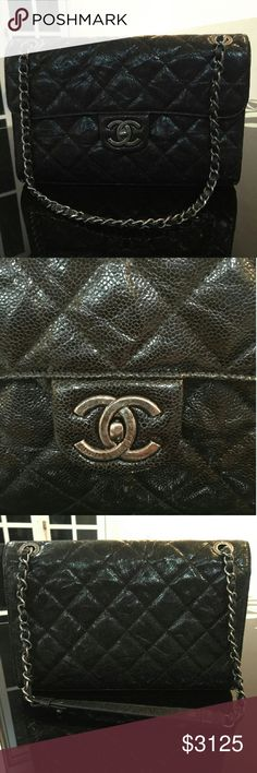 Chanel CC Crave So conflicted! This baby hasn't been out of the box in over a year! Sell or keep??? If you're following me, I'm obviously cleaning house.  Will only let it go if I get $2800 after fees. Ineligible for bundle discount. Yes, it's authentic with proof. No, I don't want to trade, thanks! CHANEL Bags Shoulder Bags