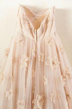 gorgeous pastel blush floral dress