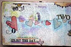 Amazing creative journal! Great Inspiration!