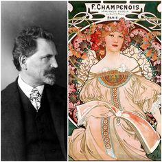 Alfons Maria Mucha (24 July 1860 – 14 July 1939), also known as Alphonse Mucha, was a Czech painter known for his distinctive colorful style, depictions of