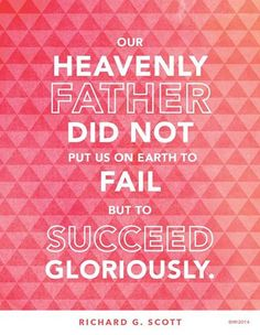 If you're feeling a little discouraged today, don't forget God wants you to succeed. #sharegoodness