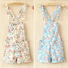 @Eleanor Smith Calder Do you like floral Dungarees?? They are sooo caute... aahhh i want! :p Xx