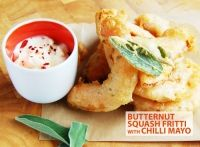 Butternut Squash Fritti w/ Chilli Mayo Ginger Jars, Canapes, Eat Right, Butternut Squash, Fine Dining, Street Food, Mashed Potatoes, Catering, Grilling