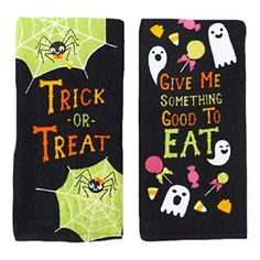 Trick or Treat Halloween Kitchen Towels 2 Pack Midnight M... https://www.amazon.com/dp/B00OHWREO2/ref=cm_sw_r_pi_dp_x_s-lSxbPBX5ST1