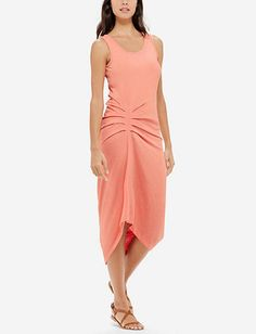 Pleat Detail Maxi Dress from THELIMITED.com