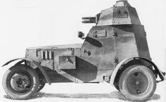 wz.34 armored car (former wz.38 half-tracks).