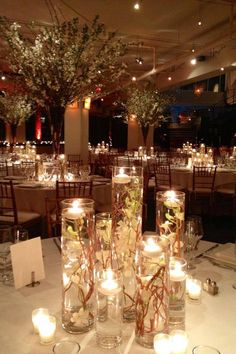 Wedding Reception Decor Candle Add Pic Source On Comment And We Will Update It Ideas Lighting Pinterest