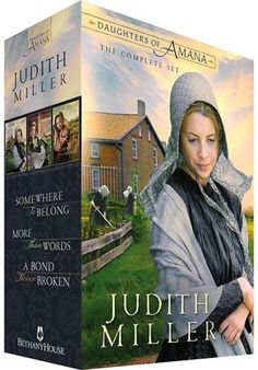Daughters of Amana by Judith Miller, Volumes 1-3, Boxed Set