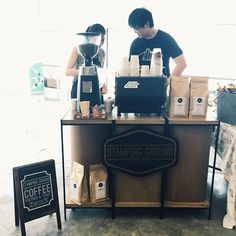 We are at the F1 pit building with @publicgarden this weekend. Come by for the shopping and a coffee! #stampinggroundcoffee #publicgarden #christmasshopping #coffee