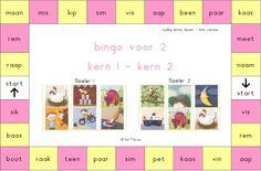 Bingo VLL thema 1 & 2 Bingo, Sims Pets, Teaching First Grade, School Hacks, Speech And Language, Pre School, Grade 1, Spelling, Circuit
