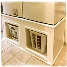 An Alternative To Ing Washer And Dryer Stands Made By My Hubby