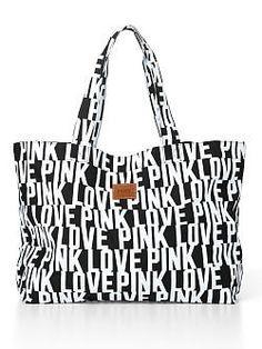 VICTORIA'S SECRET Large Tote Bag - PINK - Victoria's Secret