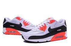 Nike Air Max 90 Black White Red