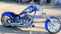 Chopper - Click photo to see more pics. Chopper Motorcycles For Sale, Chopper Bike, Bobber Motorcycle, Cruiser Motorcycle, Motorcycle Design, Motorcycle Style, Custom Street Bikes, Custom Bikes, Custom Choppers