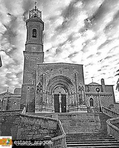Repost para agradecer a la Galería  @estaes_aragon y a @the_garces que hayan elegido una de mis fotos. @estaes_aragon -  F E L I C I D A D E S Us A R A G O N  LA FOTO ES DE :  @chemadieste  Location/Lugar : Colegiata de Santa María la Mayor Caspe Zaragoza Aragón Spain/España  Foto elegida por Admin: @the_garces  Presentamos Aragón y sus comarcas con fotos mencionadas . We present Aragón and counties with featured photos  PARA SER MENCIONAD@ DEBES: . SEGUIR @EstaEs_Aragon y @EstaEs_Espania…