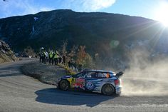 Andreas Mikkelsen (NOR), Ola Fløene (NOR) Volkswagen Polo R WRC (2015) WRC Rally Monte Carlo 2015