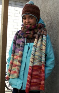 Free Pattern: Sweetspot.  I love the different colors!
