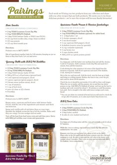Adding just a few ways to utilise our yummy products. www.srochesterhenry.yourinspirationathome.com.au