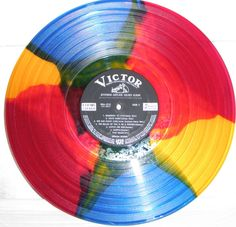 LP with multi-colored vinyl. #records #vinyl #coloredvinyl http://www.pinterest.com/TheHitman14/for-the-record/