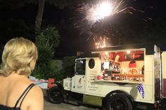 Fireworks at Hotel Agora in Naples, Italy!