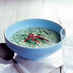 Recept - Pittige spinaziesoep - Allerhande