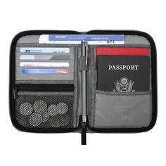 Gili Sharks And Boys Travel Passport /& Document Organizer Zipper Case