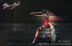 돌진 Blade & Soul Blade Master Skll 스킬 블소 블레이드앤소울 B&S 剑灵 검사 애니메이션