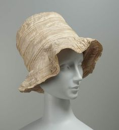 Hat, ca 1820 United States (Lexington, Mass), MFA Boston Everything about this looks completely modern.
