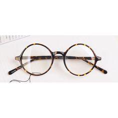 Nerd Brille filigran rund Glasses Klarglas Hornbrille treber 019 Tiger Skin
