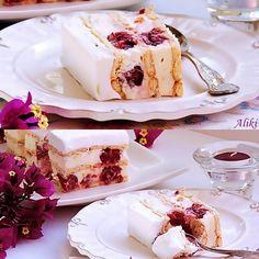 Mamina jela: Keks torta sa višnjama i belom čokoladom