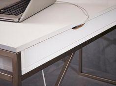 MISTRAL skrivebord. Detalje.