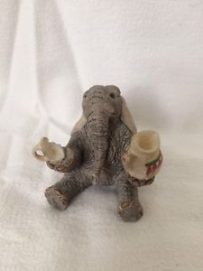 """Tuskers By Country Artists """"Nadia"""" Hand Painted Collectible Elephant Ornament Country Artists, Dinosaur Stuffed Animal, Elephant, Teddy Bear, Hand Painted, Ornaments, Painting, Animals, Ebay"""
