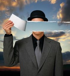 Rene Magritte: are we really only faceless wonders in this world we live?