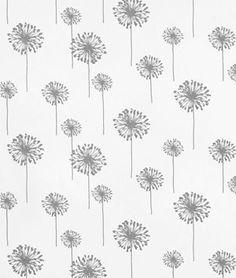 Premier Prints Small Dandelion Storm Twill Fabric | OnlineFabricStore.net