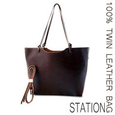leather brown bag by Kieke le Chique 2aa13f94b6230