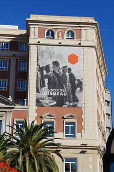 Cartel de la Retrospectiva de Robert Doisneau en la Térmica de Málaga. #Cartel #Affiche #Arterecord 2014 https://twitter.com/arterecord
