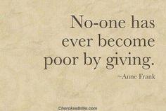 -Anne Frank