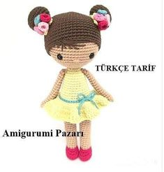 Fotoğraf açıklaması yok. Crochet Dolls Free Patterns, Crochet Hats, Origami, Teddy Bear, Toys, Animals, Portuguese Recipes, Baby Dolls, Crochet Patterns