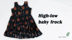 9 Year Old Girl, Baby Frocks Designs, Frock Design, 9 Year Olds, High Low, Stitching, Tank Tops, Women, Fashion
