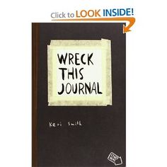 <p>For anyone who's ever wished to, but had trouble starting, keeping, or finishing a journal or sketchbook comes Wreck This Journal, an illustrated book that features a subversive collection of prompts, asking readers to muster up their best mistake- and mess-making abilities to fill the pages of the book (and …</p>
