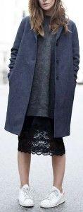 Многослойность. Как носить зимой летние платья